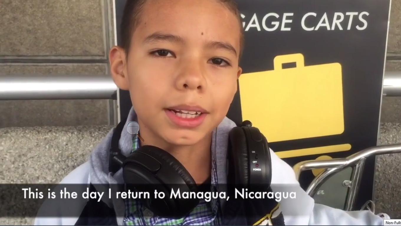 David Returns To Nicaragua