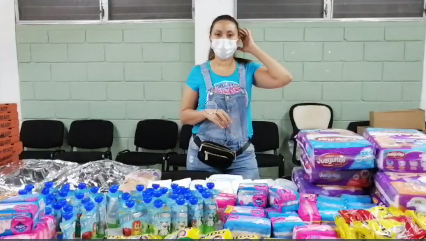 Donation To Refugees In Honduras