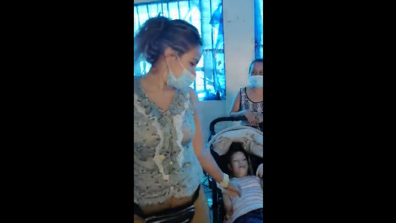 Giselle Receives A Stroller