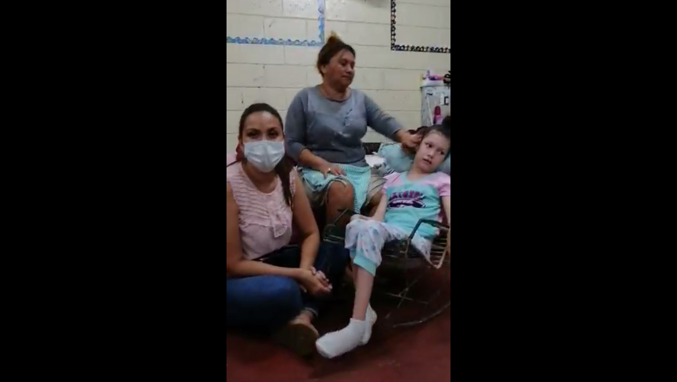 Helping Giselle, The 16 Year Old Refugee