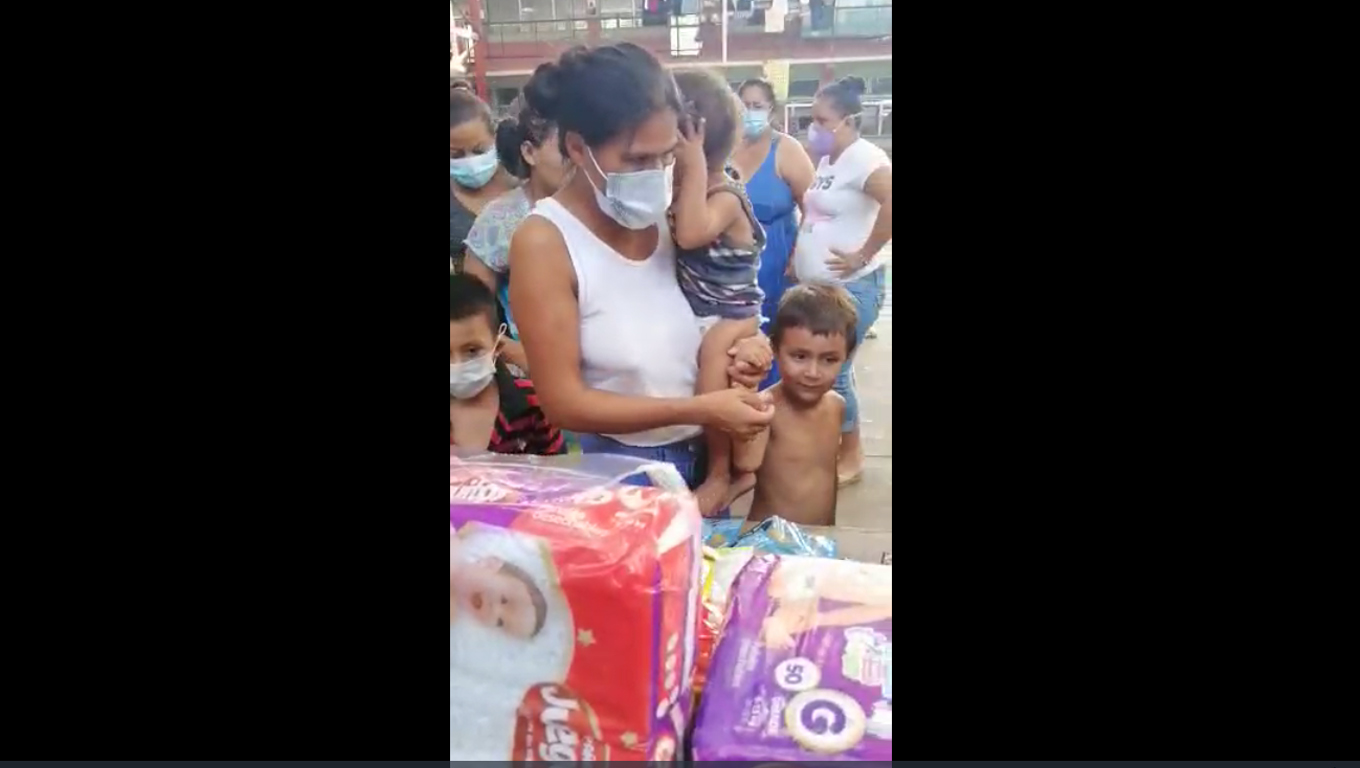 Helping Refugees in San Pedro Sula