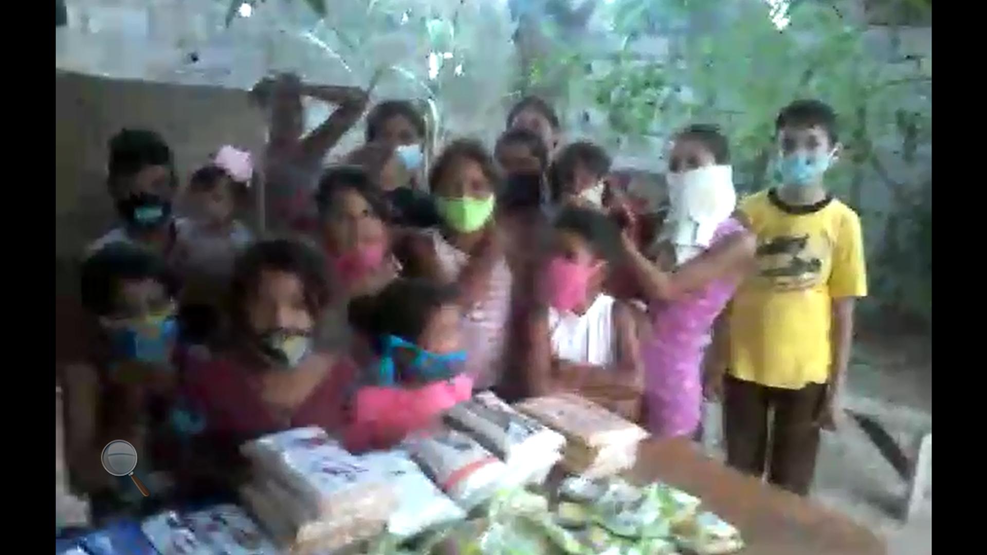 Children In Venezuela Giving Thanks For Donations